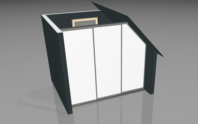 ihre dachschr ge mit schiebet ren stauraumsystemen von. Black Bedroom Furniture Sets. Home Design Ideas