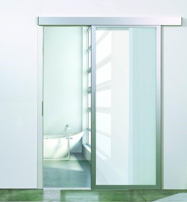 Glastür | Glaschiebetür | Tür | www.inova-wohnen.com