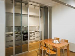 Schiebetüren Küche küche und esszimmer mit schiebetüren und mit inova gestalten
