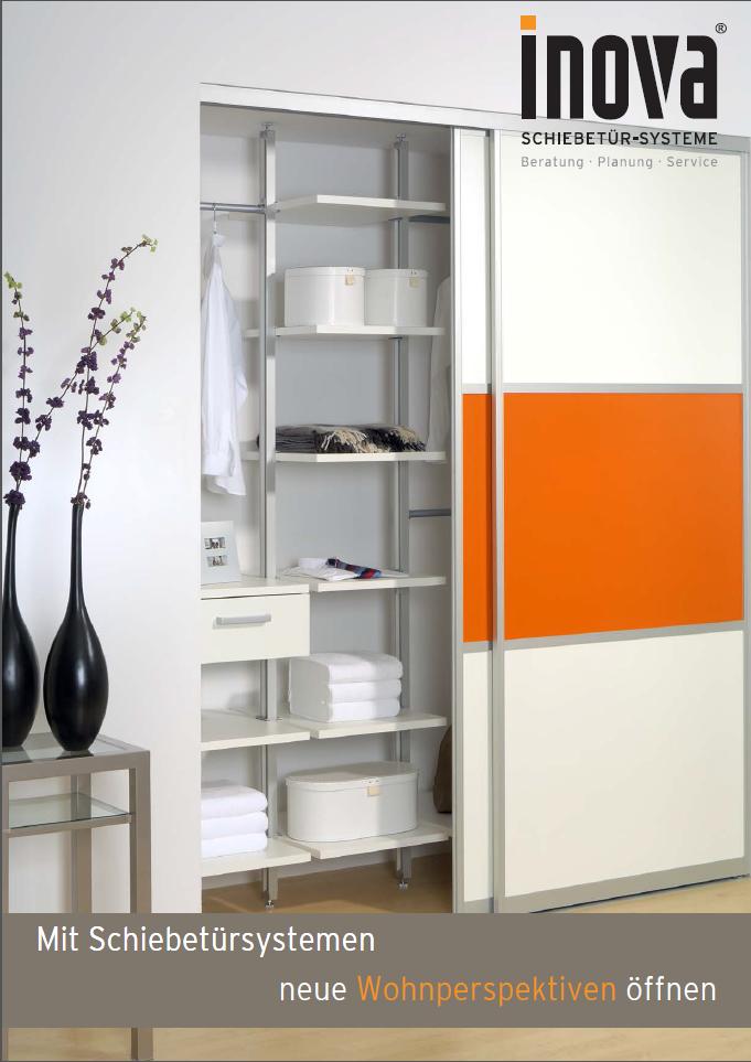 katalog und brosch ren f r schiebet ren und schrank. Black Bedroom Furniture Sets. Home Design Ideas