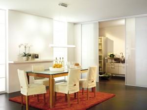 Schiebetür Küche Esszimmer inova
