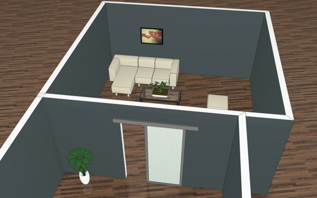 wohnzimmer mit schiebet ren von und mit inova gestalten. Black Bedroom Furniture Sets. Home Design Ideas