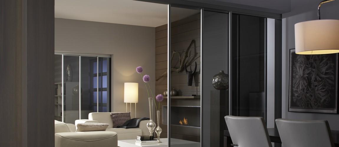 ruhe und entspannung durch eine geschlossene schiebet r. Black Bedroom Furniture Sets. Home Design Ideas