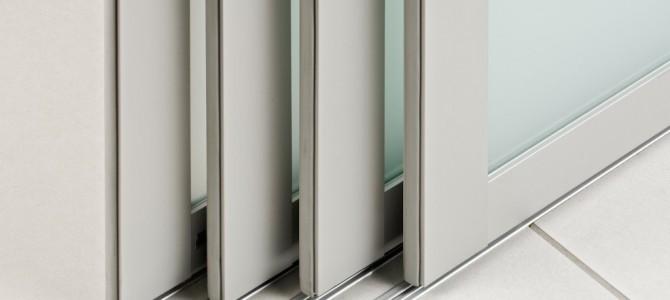 Schiebetüren Ohne Bodenschiene schiebetüren mit aluminiumprofilen ein perfektes paar
