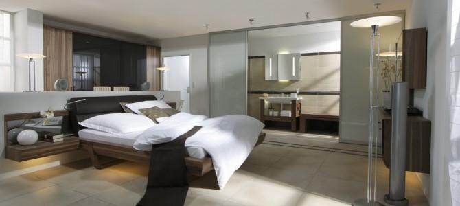 schiebetren als raumteiler rume teilen ohne zu trennen - Schlafzimmer Mit Raumteiler