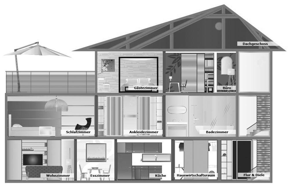 Schnittzeichnung Haus raumspar lösungen und schiebetüren vom hersteller inova